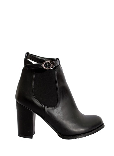 Derigo Siyah Kadın Topuklu Bot 41506 Siyah